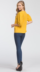 Jules Puff Sleeve Top (more colors available)