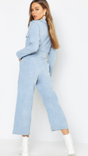 Baby Blue Cord Jumpsuit
