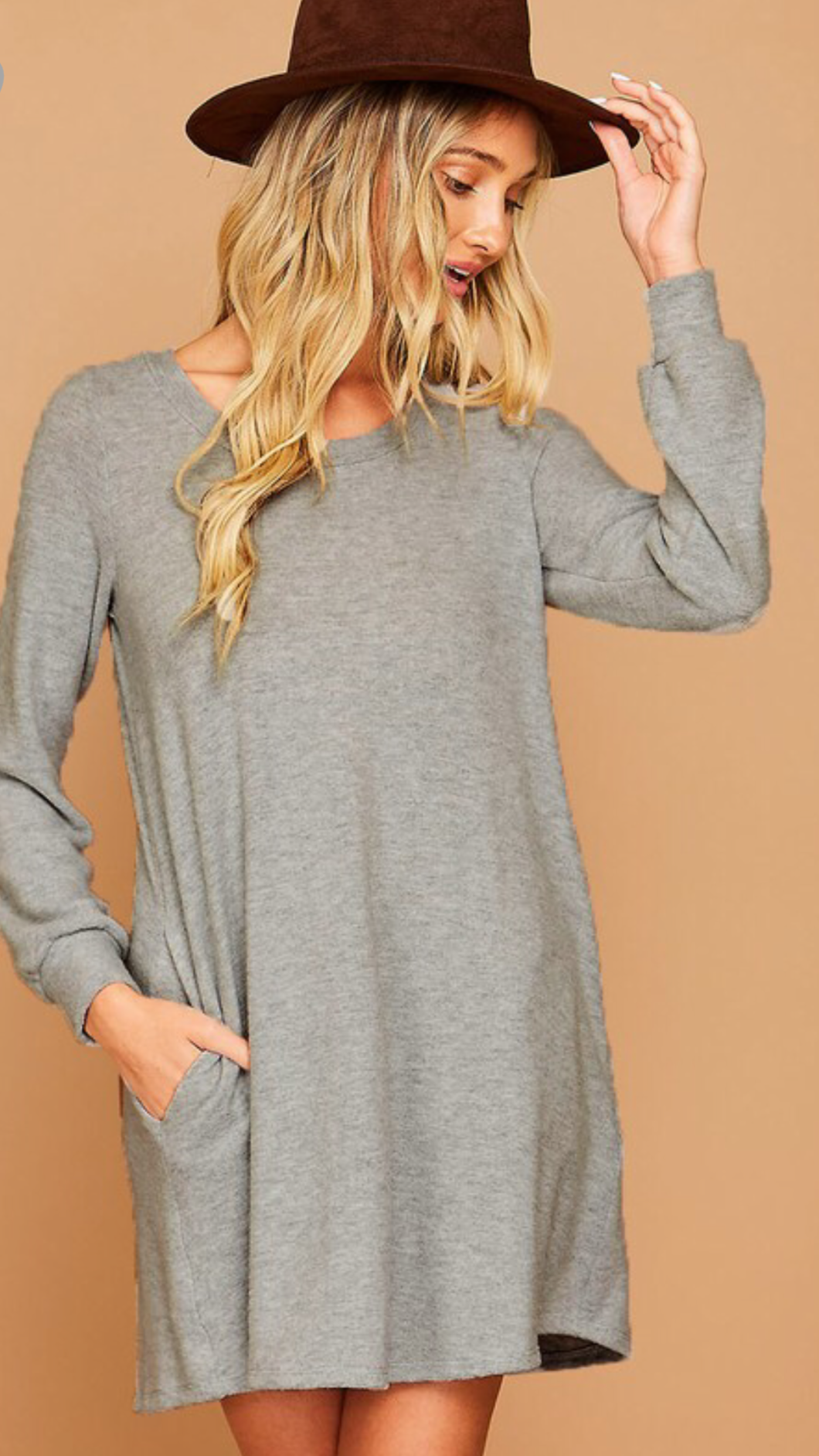 Essential Mini Soft Knit Dress