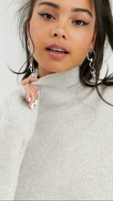 All The Feels Mock Neck  Sweater