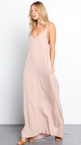 Cameron maxi dress in desert rose