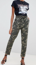 Paperbag Pants in Camo