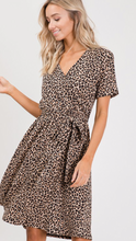 Boss Babe Animal Print Belted Dress
