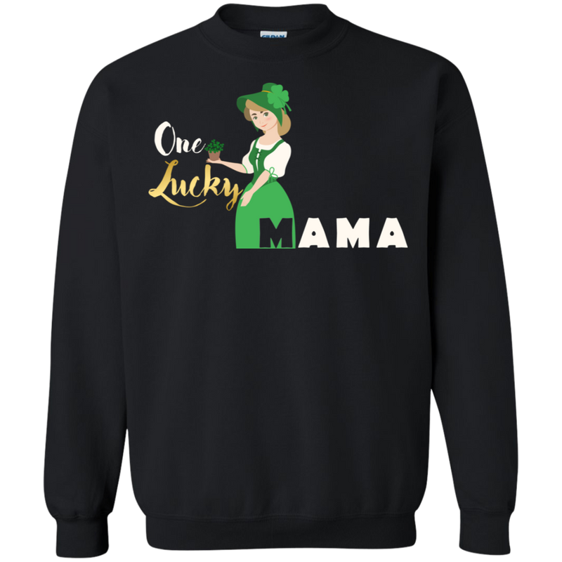 Lucky Mom Crew-neck Sweatshirt