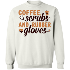 Coffee, Scrubs And Rubber Gloves