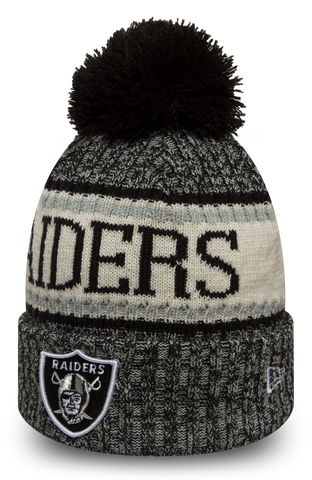 OAKLAND RAIDERS ONFIELD BEANIE