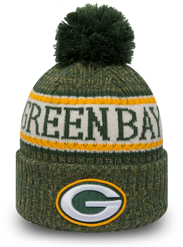 GRENN BAY PACKERS ONFILED BEANIE