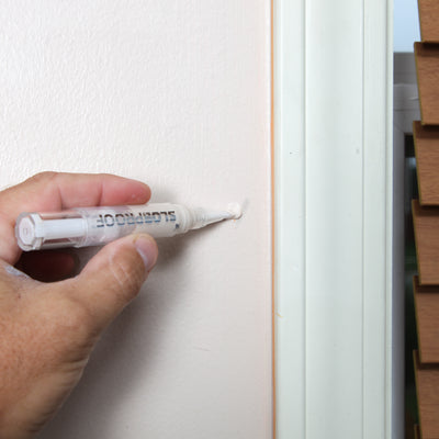 Touch-Up Paint Pen + Wall Repair Patch Kit
