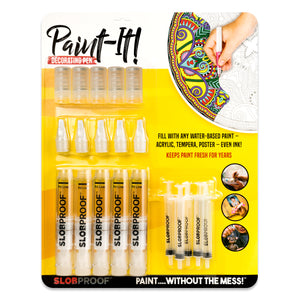 decorating paint pens fill with any acrylic tempera or poster
