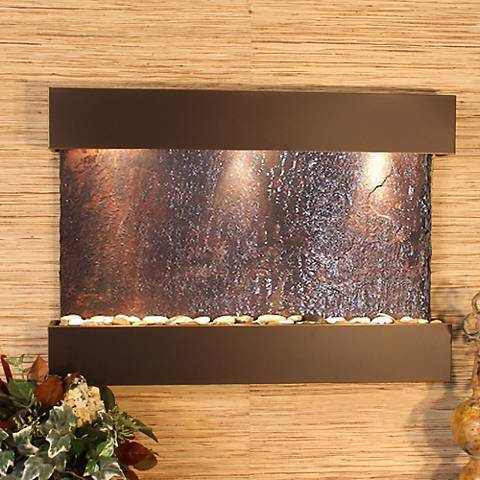 Reflection Creek Wall Fountain - Earth Inspired Products