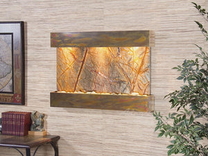 The Reflection Creek Marble Wall Fountain - Earth Inspired Products
