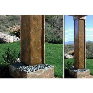 Custom Wall Water Features - Earth Inspired Products