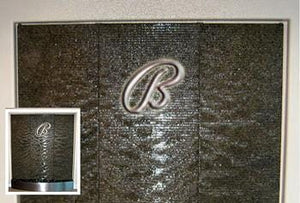 Custom Water Wall With Logo s - Earth Inspired Products