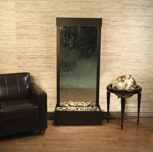The Harmony River Glass Floor Fountain - Earth Inspired Products