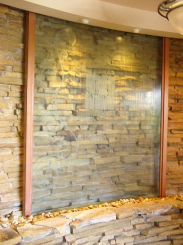 Large Indoor Custom Waterfall - Earth Inspired Products