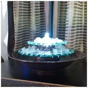 Moon Light Tabletop Fountain - Earth Inspired Products