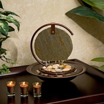 Moonshadow Mini Tabletop Fountain - Earth Inspired Products