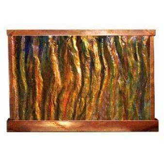 Sky's On Fire Horizontal Painted Wall Fountain - Earth Inspired Products
