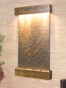 The Summit River Lightweight Slate Wall Fountain - Earth Inspired Products