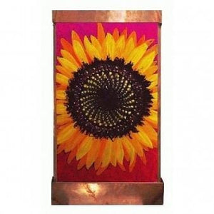 Sunflower Painted Wall Fountain - Earth Inspired Products