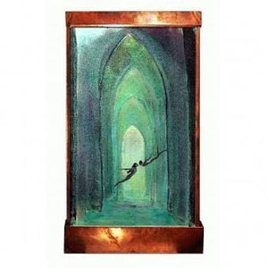 Sunken Cathed Painted Wall Fountain - Earth Inspired Products