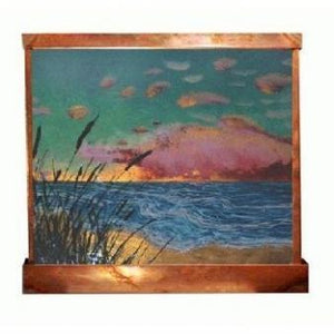 Sunrise Painted Wall Fountain - Earth Inspired Products