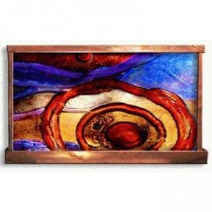 Surreal Target Horizontal Wall Water Wall - Earth Inspired Products