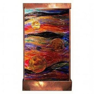 Three Suns Painted Wall Fountain - Earth Inspired Products