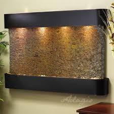 Teton Falls Wall Water Feature - Earth Inspired Products