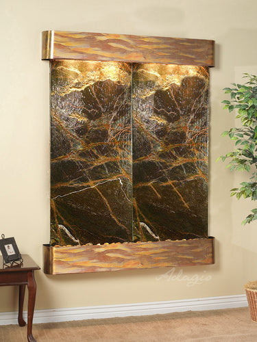 The Majestic RIver Marble Wall Fountain - Earth Inspired Products
