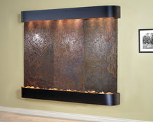 The Solitude River Lightweight Slate Wall Fountain - Earth Inspired Products