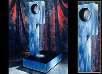 Wall Mounted Custom Water Features - Earth Inspired Products