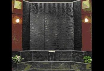 Wall Mounted Custom Water Walls Built By Earth Inspired Products