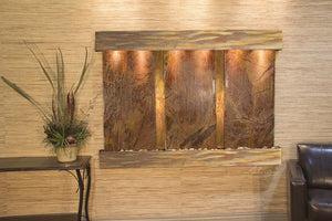 Olympus Falls Wall Water Feature - Earth Inspired Products
