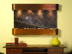 The Sunrise Springs Marble Wall Fountain - Earth Inspired Products