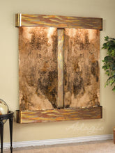 The Cottonwood Falls Travertine Wall Fountain - Earth Inspired Products