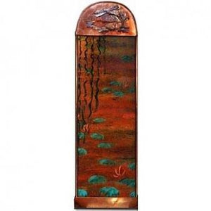 Dragonfly Painted Wall Fountain - Earth Inspired Products