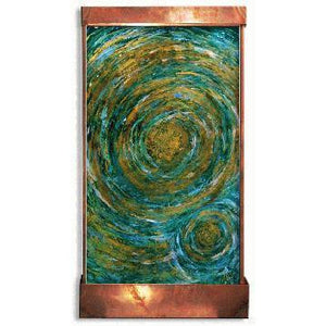 Golden Genesis Painted Wall Fountain - Earth Inspired Products