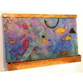 Happy Fish Painted Wall Fountain - Earth Inspired Products