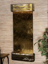 The Inspiration Falls Glass Wall Fountain - Earth Inspired Products