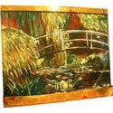 Japanese Bridge Painted Wall Fountain - Earth Inspired Products