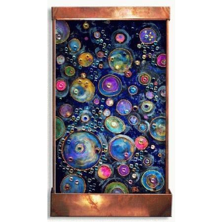 Jewels of Barsoom Painted Wall Fountain - Earth Inspired Products