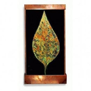 Leaf Large Painted Wall Fountain - Earth Inspired Products