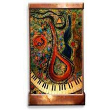 Mandolin Player Painted Wall Fountain - Earth Inspired Products