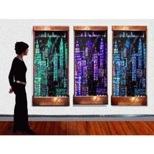 Manhattan Triple Painted Wall Fountain - Earth Inspired Products