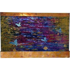 Monet's Dream Painted Wall Fountain - Earth Inspired Products