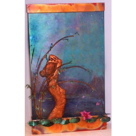 Moon River Painted Wall Fountain - Earth Inspired Products