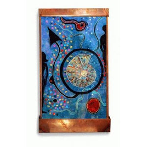 Nautilus Painted Wall Fountain - Earth Inspired Products