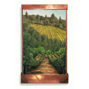 New Vineyard Painted Wall Fountain - Earth Inspired Products