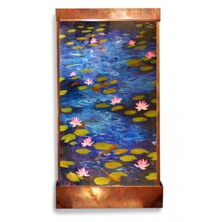 Reflecting Pond Painted Wall Fountain - Earth Inspired Products